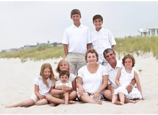 Joe, Gail and their grandkids