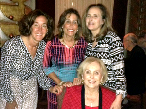 Linda (center) and her sisters