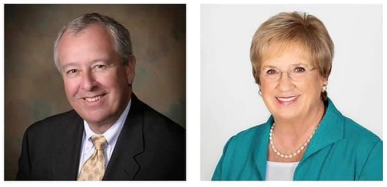 Sue Dillon (XVII) and Tom Lanson (XX) Join David Lawrence Centers Board