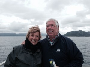 Roger and Janet in the Baltic